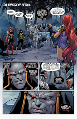 "Preview de ""Justice League Odyssey núm 8"" de Dan Abnett y Daniel Sampere."