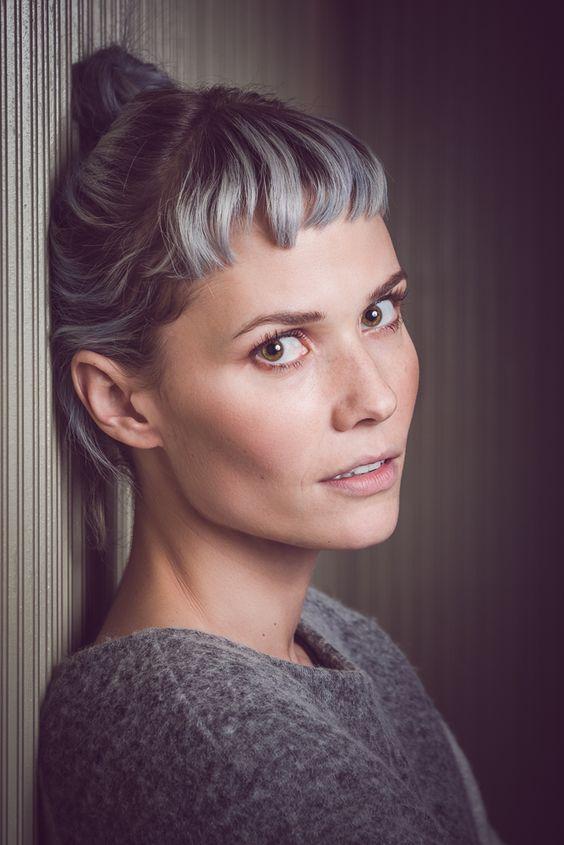 Más inspirador peinados con flequillo Colección de cortes de pelo estilo - La moda en tu cabello: Peinados recogidos con flequillo 2018