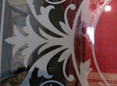 Матирование стекла для витражей в Волгограде