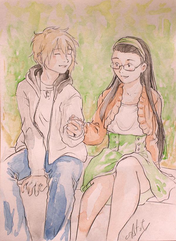 Calendrier jour 22 : Azami et Gwen, de Hana no breath