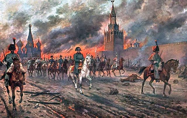 lacn-L'incendie de Moscou - Viktor Mazurovsky