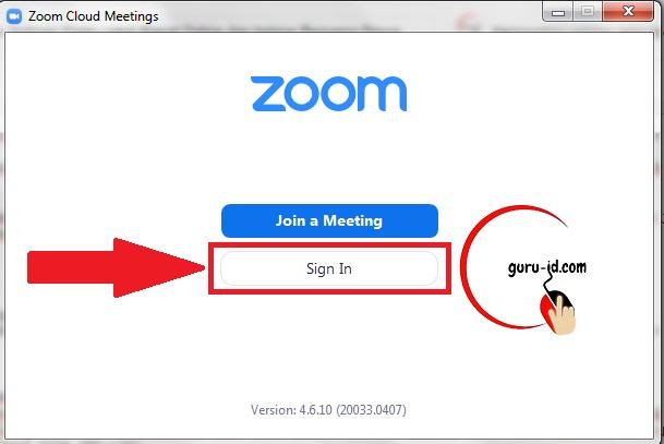 gambar cara pakai aplikasi zoom di laptop