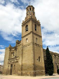 Iglesia de santa María de la Corona; Ejea de los Caballeros; Cinco Villas; Aragón