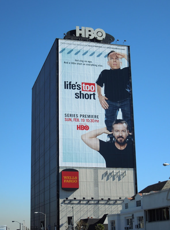 Giant Life's Too Short billboard