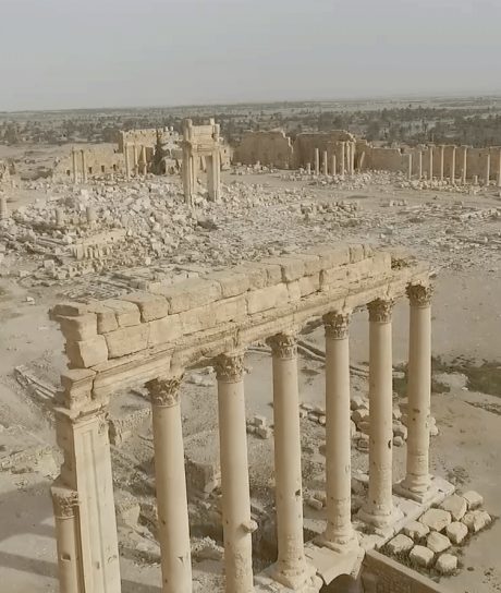 'Eternal Sites: From Bamiyan to Palmyra' at the Grand Palais, Paris