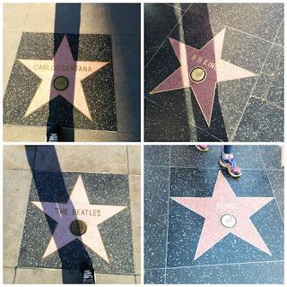 Estrellas en el paseo de la fama de Hollywood