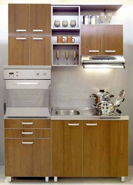 Dwell of decor 20 modern x small kitchens ideas for tiny for Innovative kitchen designs for small spaces