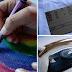 How to Print a Design Onto a Shirt Using Sandpaper