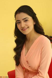 Rukshar Mir in a Peachy Deep Neck Short Dress 003.JPG