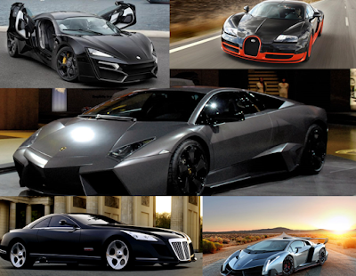 5 most expensive cars 2016