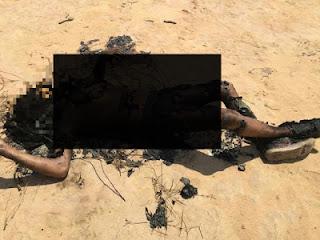 Polícia Civil investiga causa da morte de homem encontrado com corpo carbonizado, em Santana do Maranhão