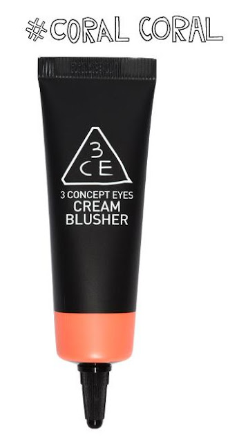 [Review] 3CE Cream Blusher #Coral Coral