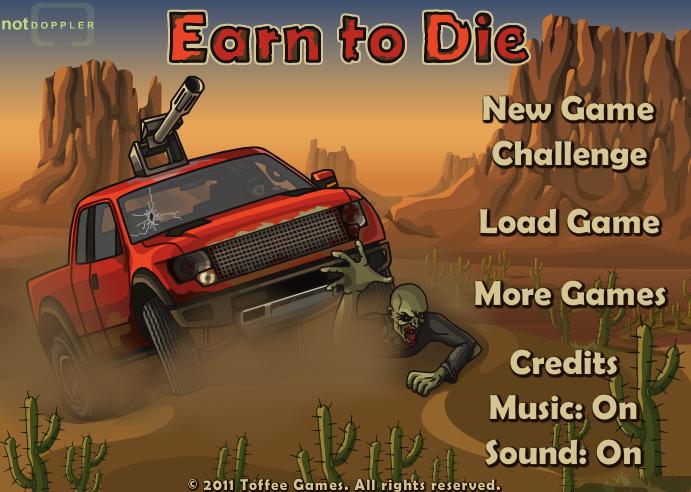 لعبة سيارات الزومبي الممتعة