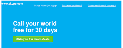 skype promotion