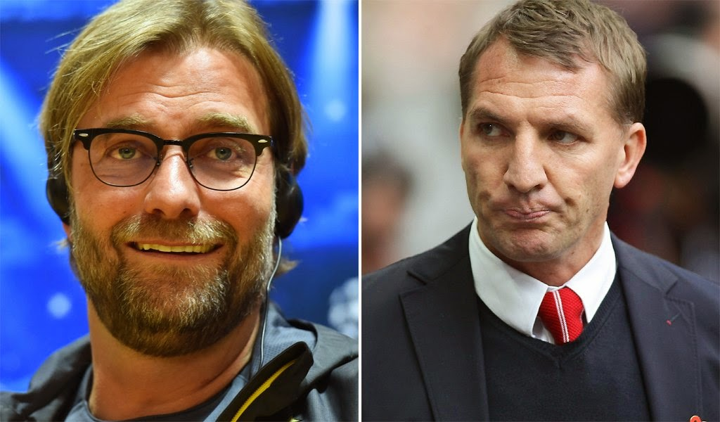 Sorry Brendan, but it's time for Liverpool to call Juergen Klopp