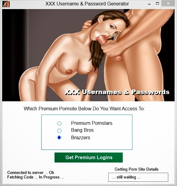 Pornsite Username And Password 36