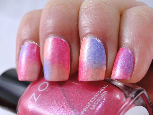 Zoya Petals Nail Art