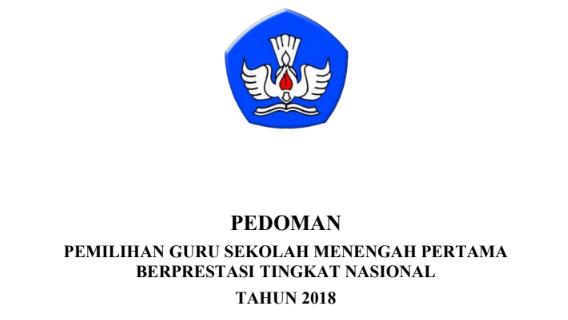 Pedoman Guru Berprestasi SMP Tahun 2018