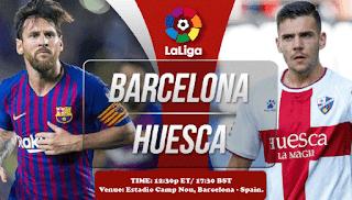 اون لاين مشاهدة مباراة برشلونة وهويسكا بث مباشر 13-4-2019 الدوري الاسباني اليوم بدون تقطيع