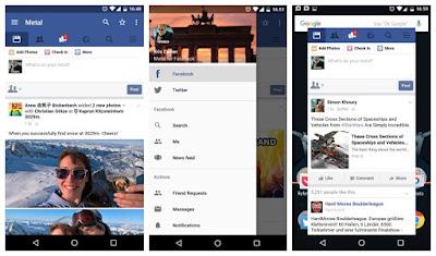 أصبح لفيسبوك؛ موقع التواصل الاجتماعي الأفضل بلا منازع، نسخة صُممت خصيصًا لأجهزة المحمولة! تطبيق مجاني للدردشة الفورية لهواتف Android وغيرها من الهواتف الذكية. تخلى عن الرسائل النصية واستعمل لتبادل الرسائل والصور والفيديوهات والمستندات والرسائل الصوتية والمكالمات مع الأهل والأصدقاء مستخدماً اتصال هاتفك بالإنترنت (4G/3G/2G/EDGE أو Wi-Fi متى توفرت).. شرح البرنامج عبر الفيديو التالي فرجة ممتعة .