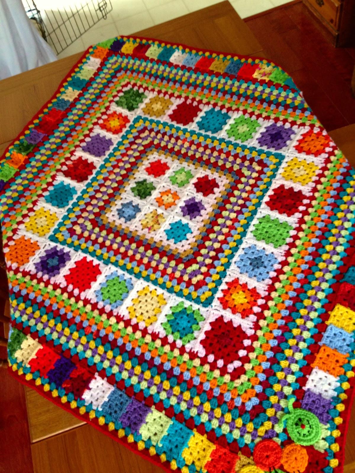Fiddlesticks my crochet and knitting ramblings finally - Aplicaciones de ganchillo para colchas ...