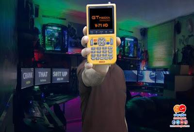 كيفية تحديث software جهاز ضبط الاطباق والاقمار GTmedia V8 Finder V 71 HD