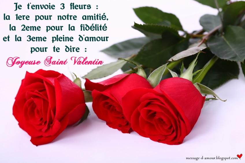 Assez SMS Saint Valentin - Message d'amour AD42