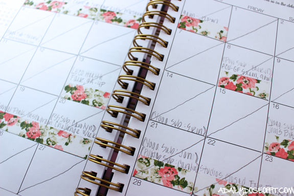 productivity tips, get stuff done, planner, corie clark