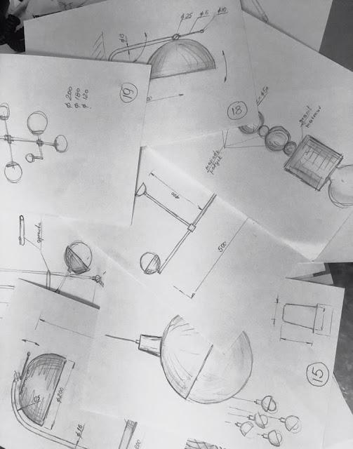 projekty lamp w HESMO