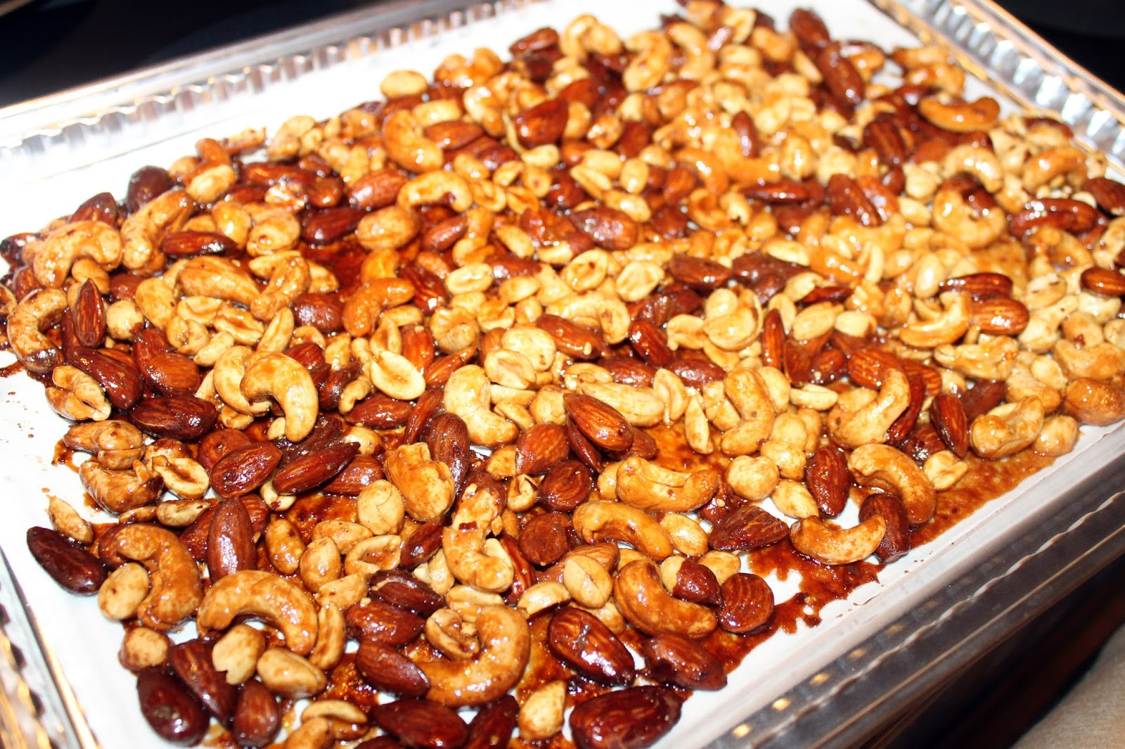 Cooking With Mary and Friends: Honey Roasted Mixed Nuts