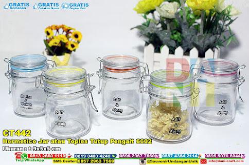 Hermetico Jar Atau Toples Tutup Pengait 6602