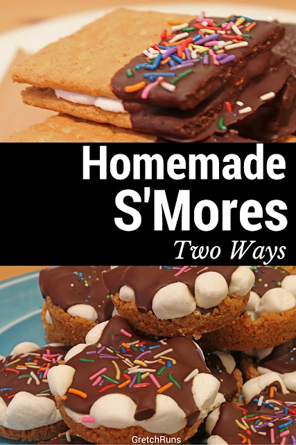 Homemade S'Mores [Two Ways]