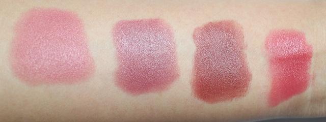 Swatch dan Pemakaian Di Bibir