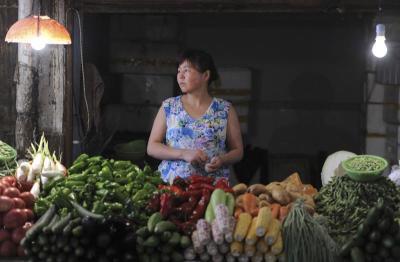 market in Hefei,