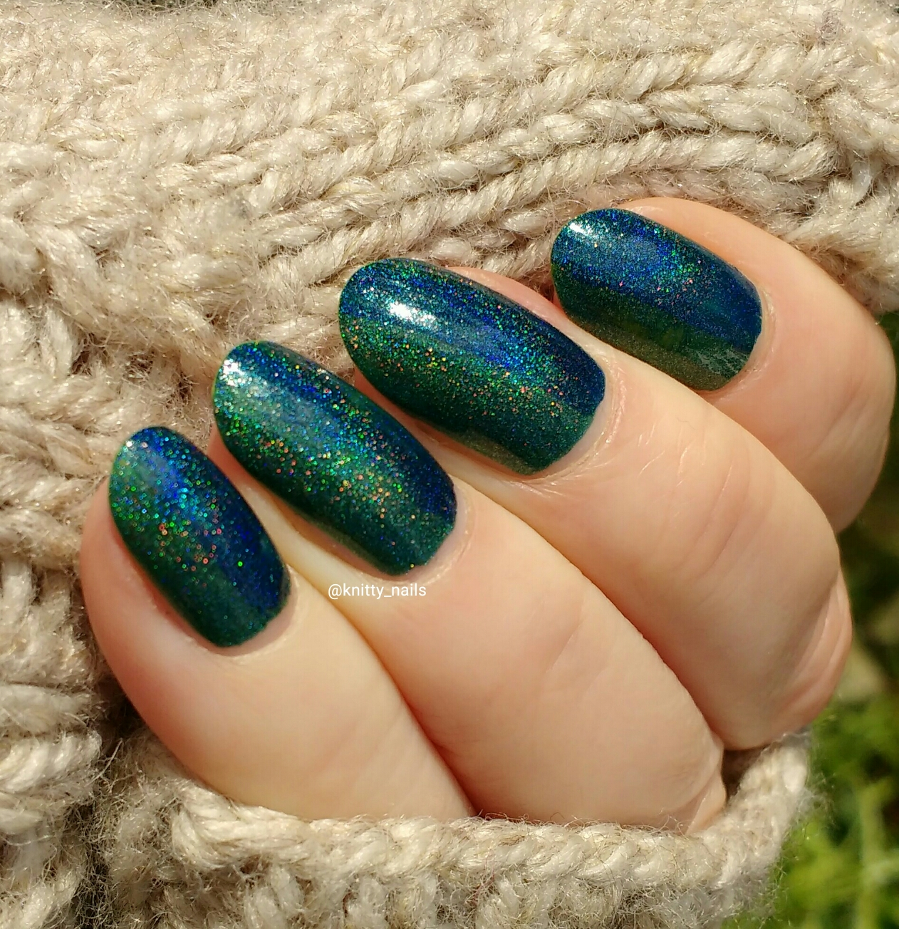 Knitty Nails: February Challenges - Mystical Nails