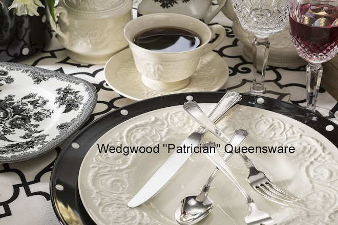 Beautiful Patrician Pattern Queensware