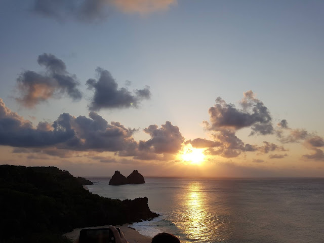 Pôr-do-Sol no Mirante do Boldró - Fernando de Noronha