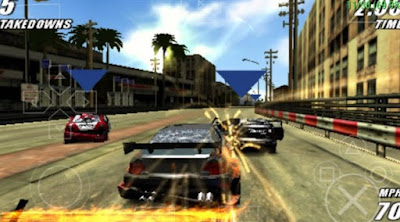 Download Burnout Legends PPSSPP Iso Untuk Android