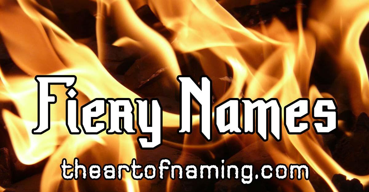 The Art of Naming: Aidan, Ignatius & Seraphina: Hot Names