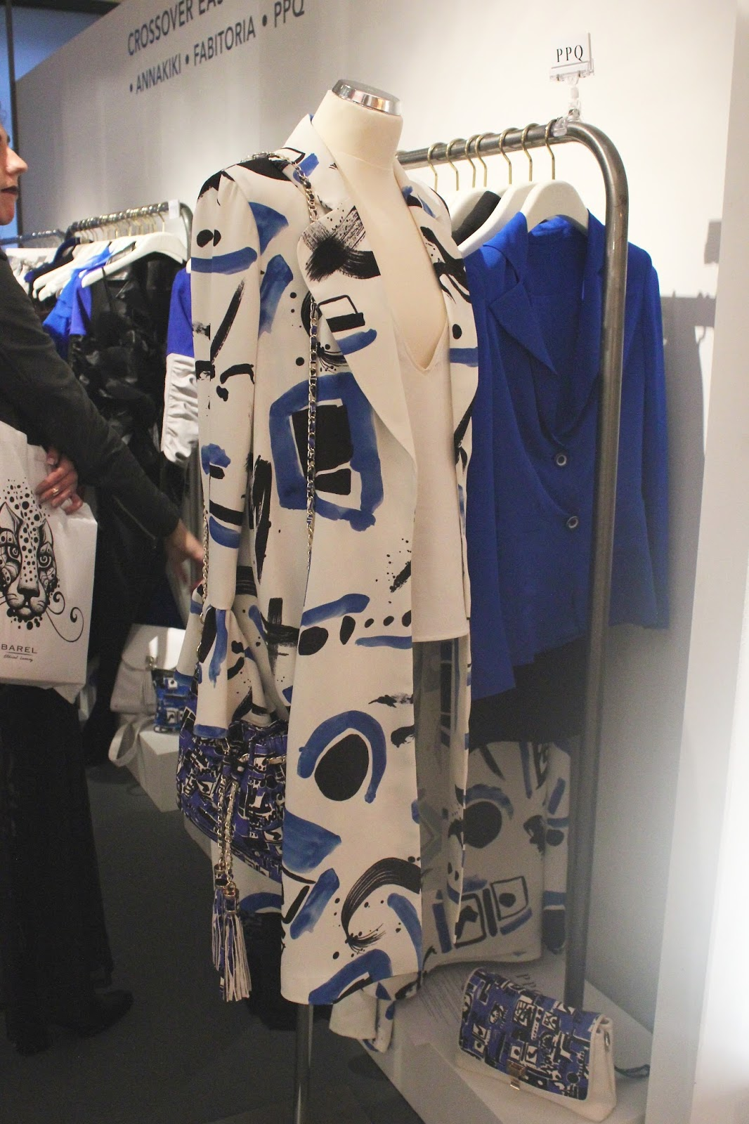 Georgie Minter-Brown, actress, blogger, london fashion week, designer showrooms, designer, clothes, fashion, ppq