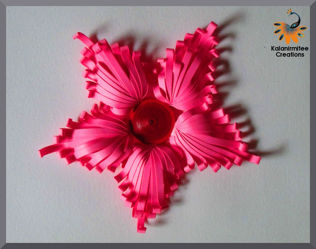 Majestic quilled flower tutorial kalanirmitee creations kalanirmitee paper quilling quilling ideas quilled flower quilled majestic flower quilled mightylinksfo