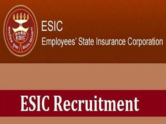 ESIC Recruitment 539 Post