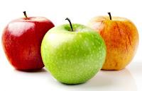 La manzana como fruta para el período pre entrenamiento