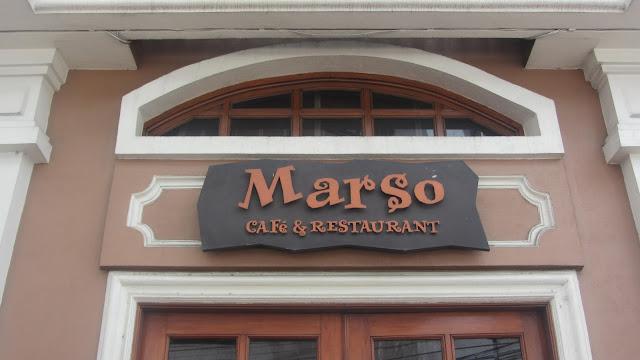 Marso Cafe & Restaurant at Cabildo Street | walkandeat