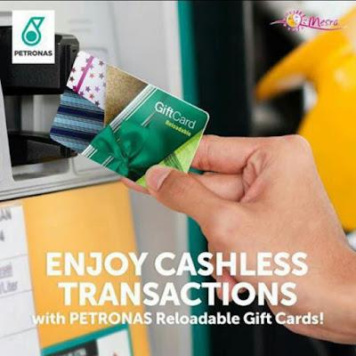 Petronas Fuel Card Reloadable GiftCard Kad Minyak RM100