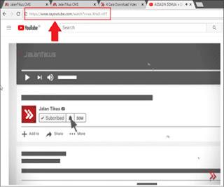 Cara Download Video di Youtube Lewat HP Tanpa Software