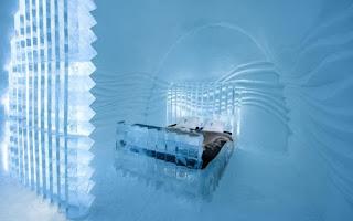 Vẻ đẹp ấn tượng bên trong khách sạn băng giá ở Thụy Điển 8