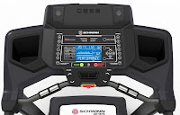 Schwinn 830 console with large single LCD display, image