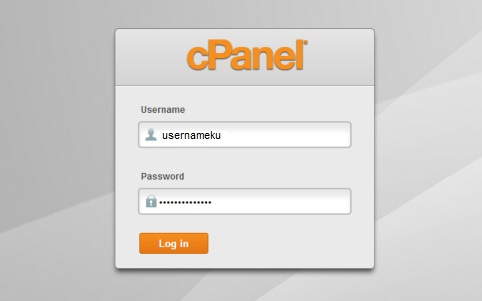 login cpanel web host saudara