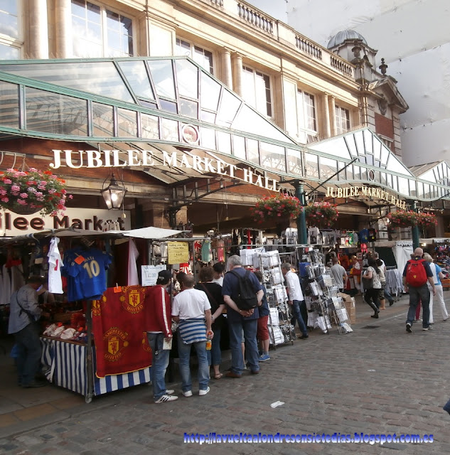 Jubilee Market Hall en Covent Garden, Londres.